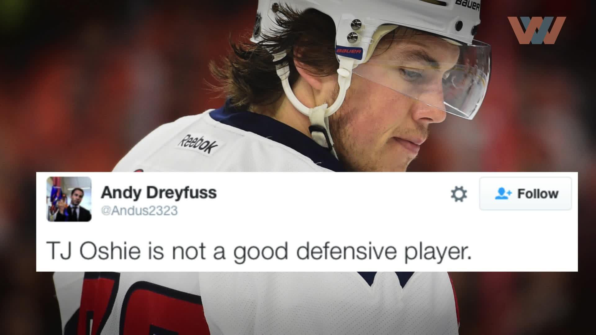 Image of Tweetbusters: T.J. Oshie